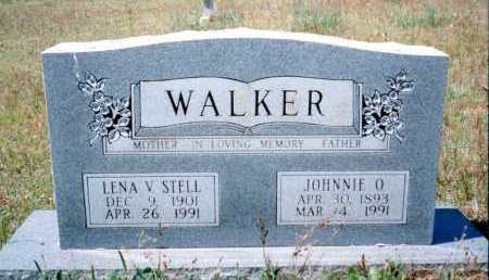 WALKER, JOHNNIE OLIVER - Conway County, Arkansas | JOHNNIE OLIVER WALKER - Arkansas Gravestone Photos