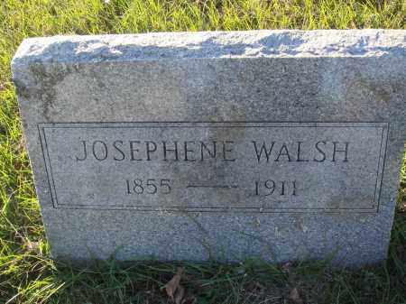 WALSH, JOSEPHENE - Conway County, Arkansas | JOSEPHENE WALSH - Arkansas Gravestone Photos