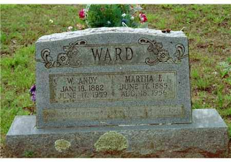 WARD, MARTHA ELIZABETH - Conway County, Arkansas | MARTHA ELIZABETH WARD - Arkansas Gravestone Photos