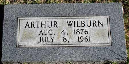 WILBURN, ARTHUR - Conway County, Arkansas | ARTHUR WILBURN - Arkansas Gravestone Photos