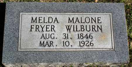 WILBURN, MELDA - Conway County, Arkansas | MELDA WILBURN - Arkansas Gravestone Photos