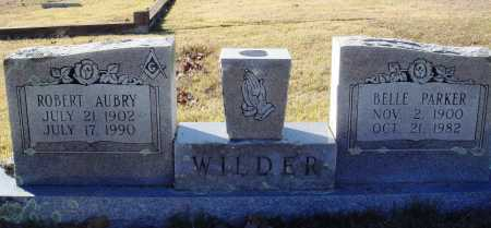 PARKER WILDER, BELLE - Conway County, Arkansas | BELLE PARKER WILDER - Arkansas Gravestone Photos
