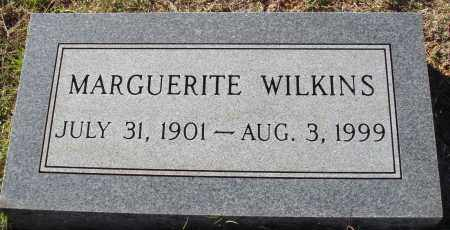 WILKINS, MARGUERITE - Conway County, Arkansas | MARGUERITE WILKINS - Arkansas Gravestone Photos