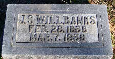 WILLBANKS, J. S. - Conway County, Arkansas | J. S. WILLBANKS - Arkansas Gravestone Photos