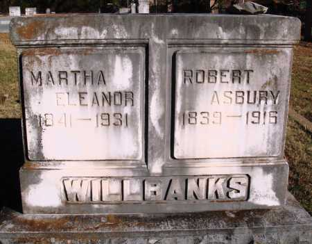 WILLBANKS, MARTHA ELEANOR - Conway County, Arkansas | MARTHA ELEANOR WILLBANKS - Arkansas Gravestone Photos