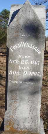 WILLIAMS, FRED - Conway County, Arkansas | FRED WILLIAMS - Arkansas Gravestone Photos