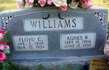 WILLIAMS, AGNES R. - Conway County, Arkansas | AGNES R. WILLIAMS - Arkansas Gravestone Photos