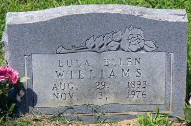 WILLIAMS, LULA ELLEN - Conway County, Arkansas | LULA ELLEN WILLIAMS - Arkansas Gravestone Photos