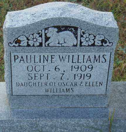 WILLIAMS, PAULINE - Conway County, Arkansas | PAULINE WILLIAMS - Arkansas Gravestone Photos