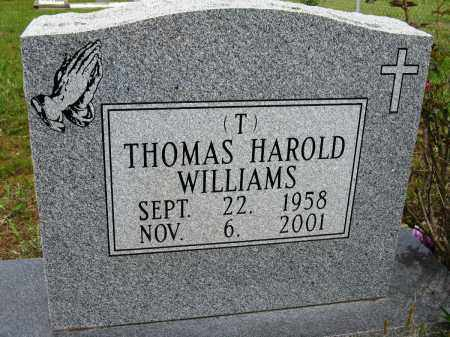 "WILLIAMS, THOMAS HAROLD ""T"" - Conway County, Arkansas 