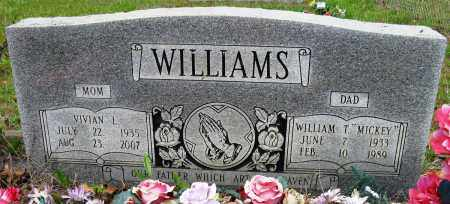 "WILLIAMS, WILLIAM T ""MICKEY"" - Conway County, Arkansas 