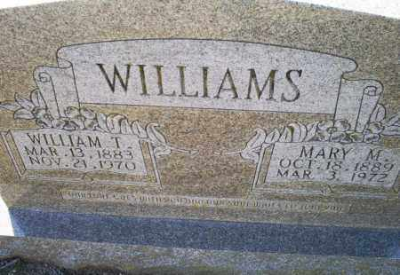 WILLIAMS, MARY M. - Conway County, Arkansas | MARY M. WILLIAMS - Arkansas Gravestone Photos