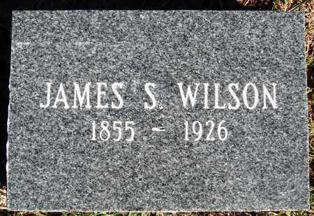WILSON, JAMES S. - Conway County, Arkansas | JAMES S. WILSON - Arkansas Gravestone Photos