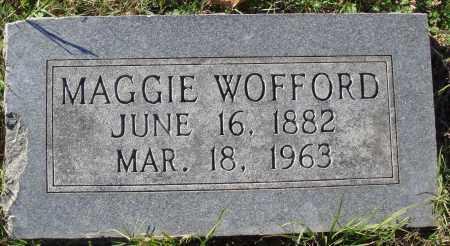 WOFFORD, MAGGIE - Conway County, Arkansas | MAGGIE WOFFORD - Arkansas Gravestone Photos