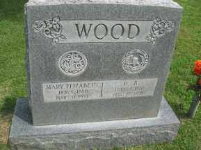 WOOD, ELIZABETH - Conway County, Arkansas | ELIZABETH WOOD - Arkansas Gravestone Photos