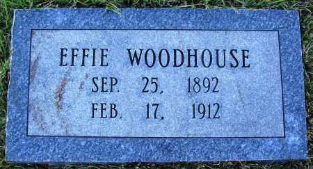 WOODHOUSE, EFFIE - Conway County, Arkansas | EFFIE WOODHOUSE - Arkansas Gravestone Photos