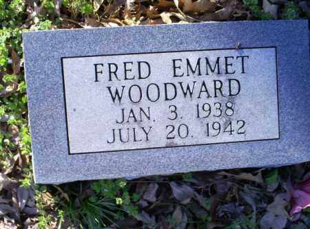 WOODWARD, FRED EMMET - Conway County, Arkansas | FRED EMMET WOODWARD - Arkansas Gravestone Photos