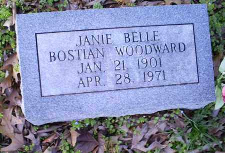 WOODWARD, JANIE BELLE - Conway County, Arkansas | JANIE BELLE WOODWARD - Arkansas Gravestone Photos