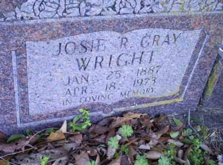 GRAY WRIGHT, JOSIE R - Conway County, Arkansas | JOSIE R GRAY WRIGHT - Arkansas Gravestone Photos