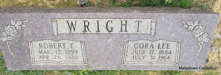 NORWOOD WRIGHT, CORA LEE - Conway County, Arkansas | CORA LEE NORWOOD WRIGHT - Arkansas Gravestone Photos