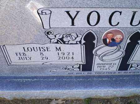 YOCUM, LOUISE M. - Conway County, Arkansas | LOUISE M. YOCUM - Arkansas Gravestone Photos