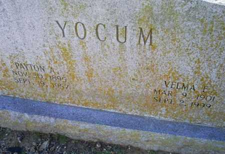 YOCUM, VELMA E. - Conway County, Arkansas | VELMA E. YOCUM - Arkansas Gravestone Photos