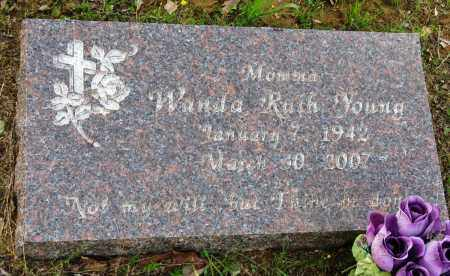 YOUNG, WANDA RUTH - Conway County, Arkansas | WANDA RUTH YOUNG - Arkansas Gravestone Photos