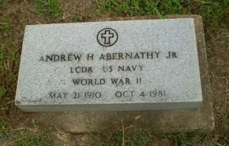 ABERNATHY, JR (VETERAN WWII), ANDREW H - Craighead County, Arkansas | ANDREW H ABERNATHY, JR (VETERAN WWII) - Arkansas Gravestone Photos