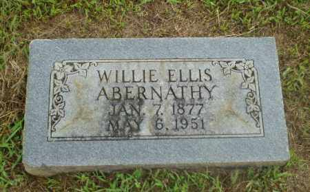 ABERNATHY, WILLIE ELLIS - Craighead County, Arkansas | WILLIE ELLIS ABERNATHY - Arkansas Gravestone Photos