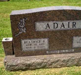 ADAIR, BEATRICE B - Craighead County, Arkansas | BEATRICE B ADAIR - Arkansas Gravestone Photos