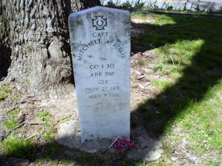 ADAIR  (VETERAN CSA), MITCHELL A. - Craighead County, Arkansas | MITCHELL A. ADAIR  (VETERAN CSA) - Arkansas Gravestone Photos