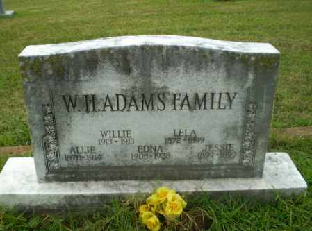 ADAMS, ALLIE - Craighead County, Arkansas | ALLIE ADAMS - Arkansas Gravestone Photos