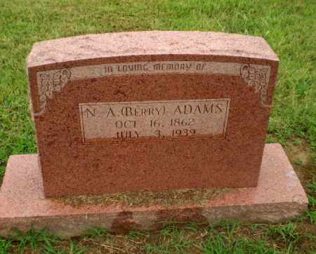 "ADAMS, N.A. ""BERRY"" - Craighead County, Arkansas 