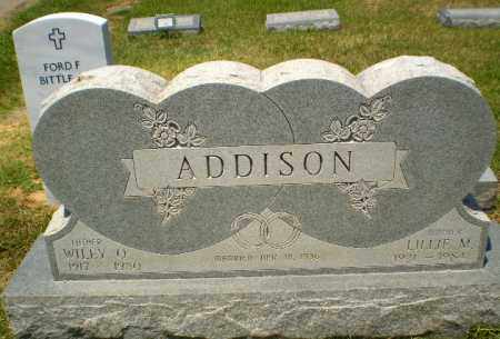 ADDISON, WILEY O - Craighead County, Arkansas | WILEY O ADDISON - Arkansas Gravestone Photos