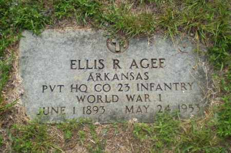AGEE  (VETERAN WWI), ELLIS R - Craighead County, Arkansas | ELLIS R AGEE  (VETERAN WWI) - Arkansas Gravestone Photos