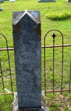 AGEE, HENRIETTA F - Craighead County, Arkansas | HENRIETTA F AGEE - Arkansas Gravestone Photos
