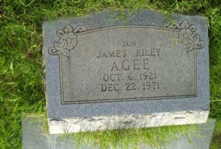 AGEE, JAMES RILEY - Craighead County, Arkansas | JAMES RILEY AGEE - Arkansas Gravestone Photos