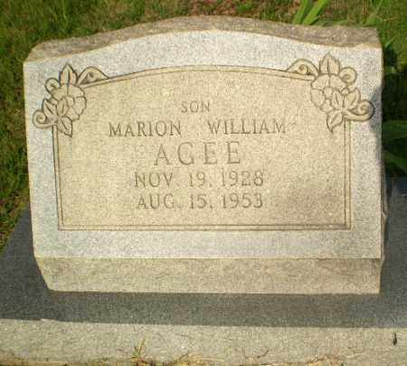 AGEE, MARION WILLIAM - Craighead County, Arkansas | MARION WILLIAM AGEE - Arkansas Gravestone Photos