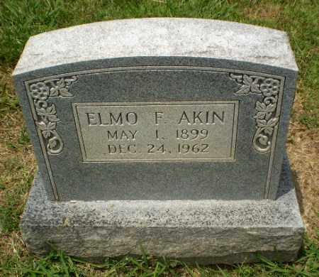 AKIN, ELMO F - Craighead County, Arkansas | ELMO F AKIN - Arkansas Gravestone Photos
