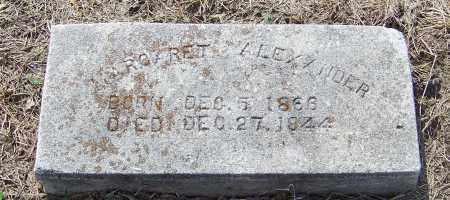 ALEXANDER, MARGARET - Craighead County, Arkansas   MARGARET ALEXANDER - Arkansas Gravestone Photos