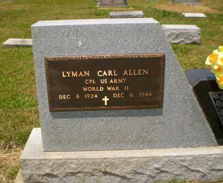 ALLEN  (VETERAN WWII), LYMAN CARL - Craighead County, Arkansas | LYMAN CARL ALLEN  (VETERAN WWII) - Arkansas Gravestone Photos