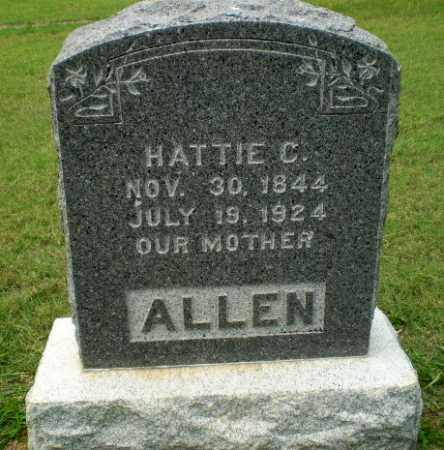 ALLEN, HATTIE C - Craighead County, Arkansas | HATTIE C ALLEN - Arkansas Gravestone Photos