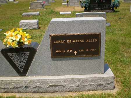 ALLEN, LARRY DEWAYNE - Craighead County, Arkansas | LARRY DEWAYNE ALLEN - Arkansas Gravestone Photos