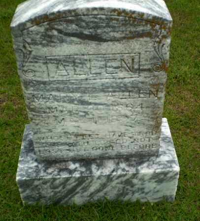 ALLEN, MARY E - Craighead County, Arkansas | MARY E ALLEN - Arkansas Gravestone Photos