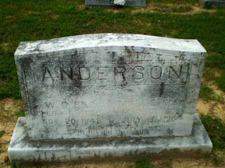 "ANDERSON, W.D. ""BILL"" - Craighead County, Arkansas 