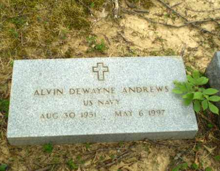 ANDREWS  (VETERAN), ALVIN DEWAYNE - Craighead County, Arkansas | ALVIN DEWAYNE ANDREWS  (VETERAN) - Arkansas Gravestone Photos