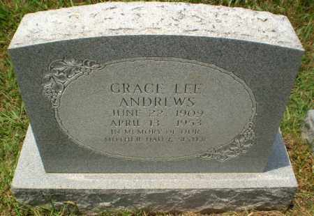 ANDREWS, GRACE - Craighead County, Arkansas | GRACE ANDREWS - Arkansas Gravestone Photos