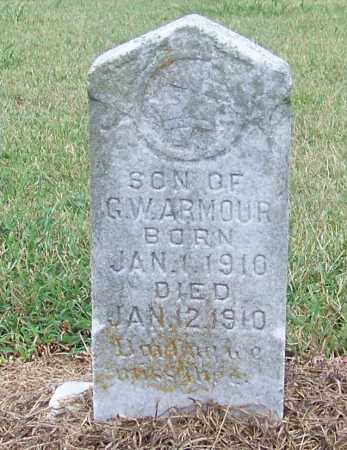 ARMOUR, SON OF G.W. - Craighead County, Arkansas | SON OF G.W. ARMOUR - Arkansas Gravestone Photos