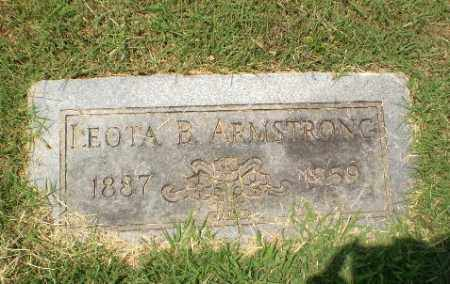 ARMSTRONG, LEOTA B - Craighead County, Arkansas | LEOTA B ARMSTRONG - Arkansas Gravestone Photos