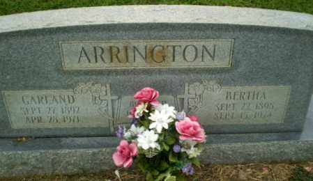 ARRINGTON, GARLAND - Craighead County, Arkansas | GARLAND ARRINGTON - Arkansas Gravestone Photos